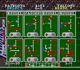 Vintage Tecmo Super Bowl