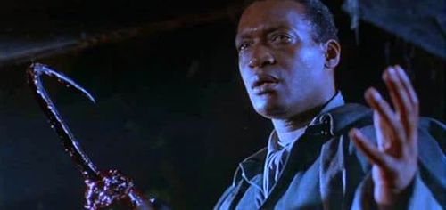 Tony Todd from CANDYMAN