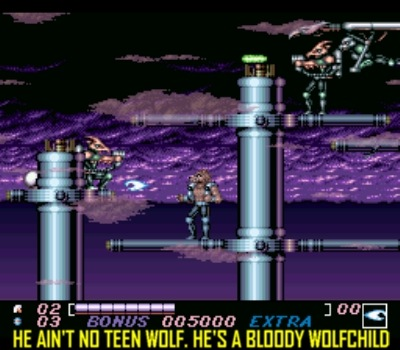 Wolfchild on the SNES