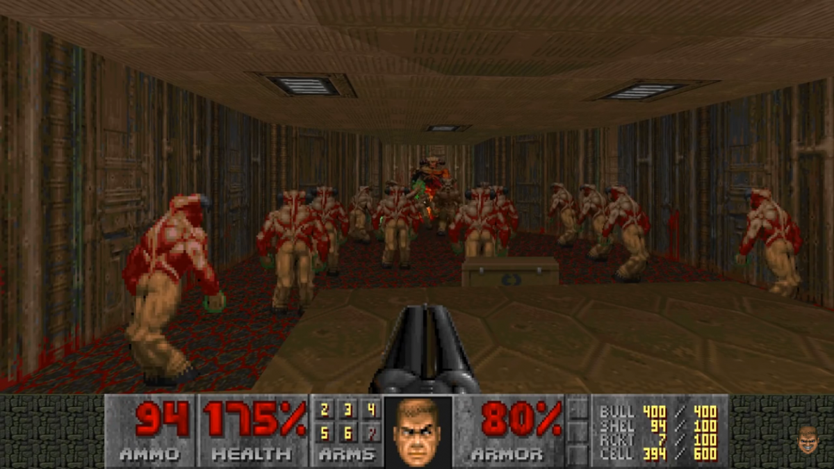 Obligatory Doom shot #2 even if its Doom II again