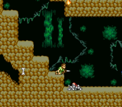 Endearingly reminiscent of Castlevania this part is