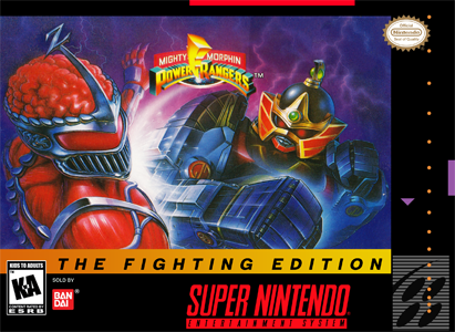 Mighty Morphin Power Rangers The Fighting Edition Snes Rvgfanatic