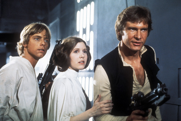 Thanks for the memories. R.I.P. Carrie Fisher