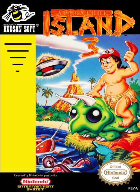 This was oddly released AFTER Super Adventure Island