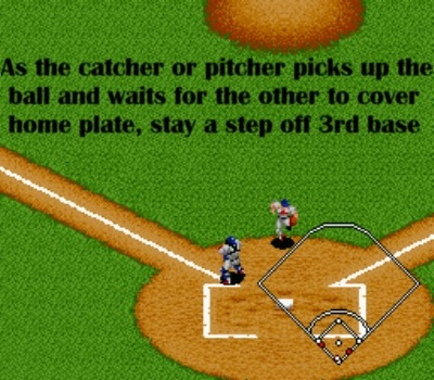 It's imperative that you stay a step off third base