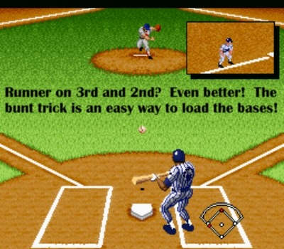 Er, imagine runners on second and third here