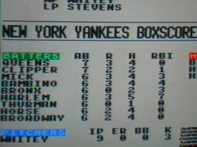Harlem went deep twice, had 5 hits and 7 RBIs!