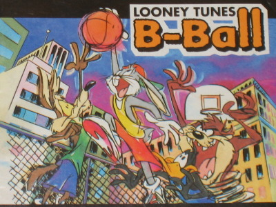 NBA Jam meets Looney Tunes