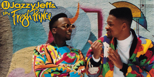 Jazzy Jeff and Will Smith were pop culture stars in '95