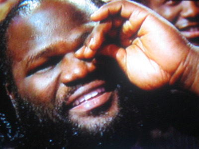 Mark Henry laughs so hard he has to wipe away a tear
