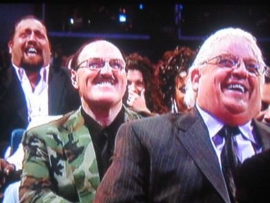 Big laughs from Big Show, Sarge and Dusty Rhodes