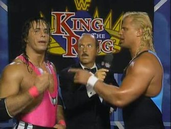 Their King of the Ring 1993 match was great, too