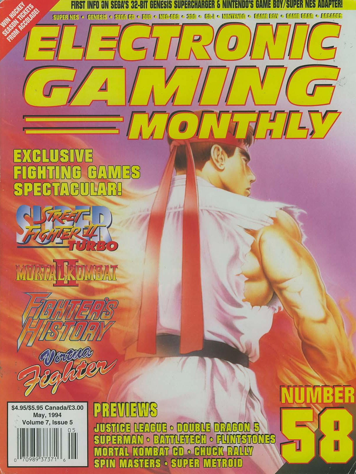 No one ever saw EGM turning heel on Street Fighter