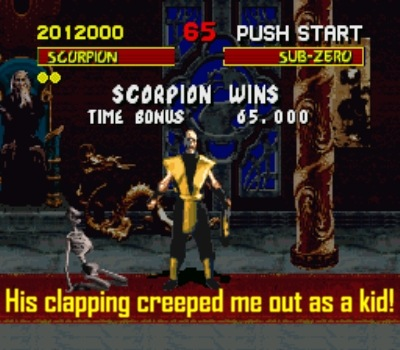 Shang Tsung gets closer with each step of the way...