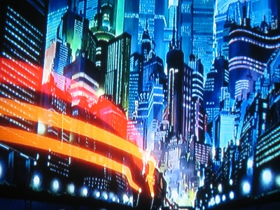 NEO TOKYO 2064. Bright lights and a teeming nightlife...