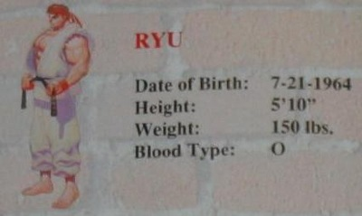 A wandering warrior, Ryu is devoted only to the fight