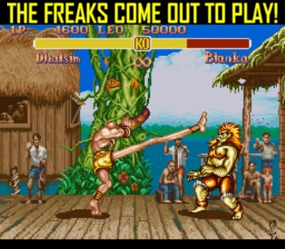 "I've always loved the ""freaks"" in my fighting games"