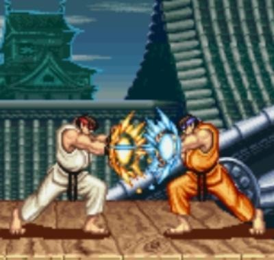 But I was also a big Ryu guy. Orange Ryu all day