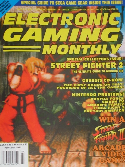 No one envisioned EGM going anti-Street Fighter