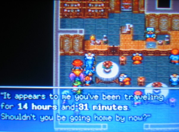 I love when RPGs log your playing time