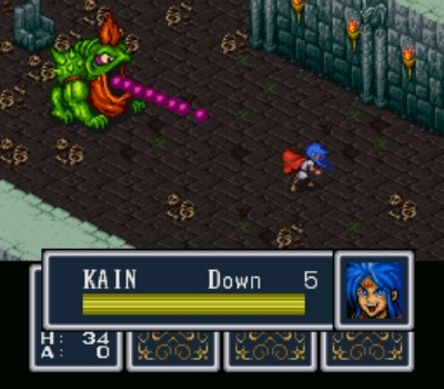 Leave it to friggin' Capcom to use energy bars in an RPG