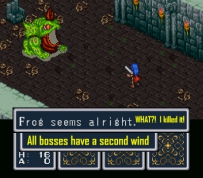 As a result, boss fights can drag on a wee bit