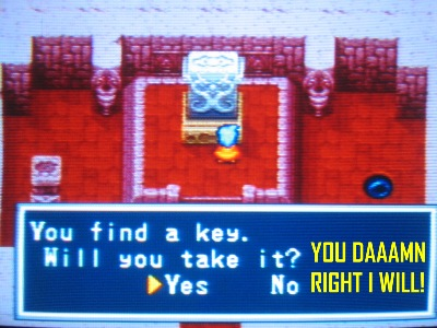 Funny whenever RPGs offer you an obvious choice