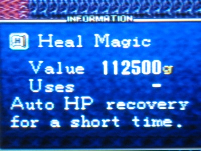Having the proper magic spells helps greatly