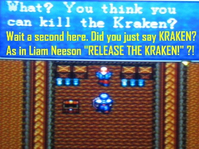 "I sure as hell didn't mean ""what's kraken?"""