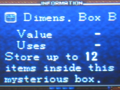Finding all three Dimension Boxes is key. Don't miss one!