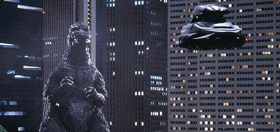 Godzilla: Don't even try it, pal