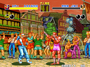 Fatal Fury (SNK, 1991)