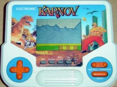 There was even a Tiger handheld!