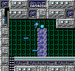 Magnet Beam from Mega Man