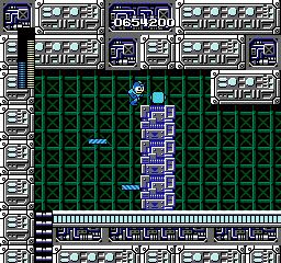 Magnet Beam from Mega Man
