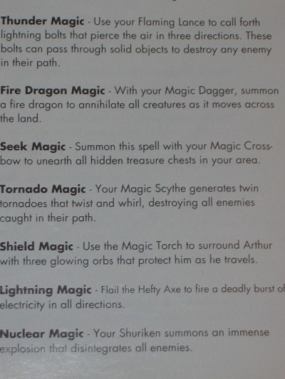 Magic is yours to use once the Golden Armor is worn