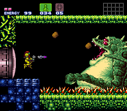 It has shades of Super Metroid