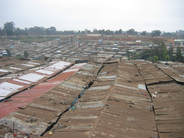 The slums of Kenya
