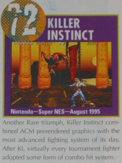 Nintendo Power ranked it #72 on their top 100 list