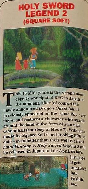 Glad they went with the name Secret of Mana!