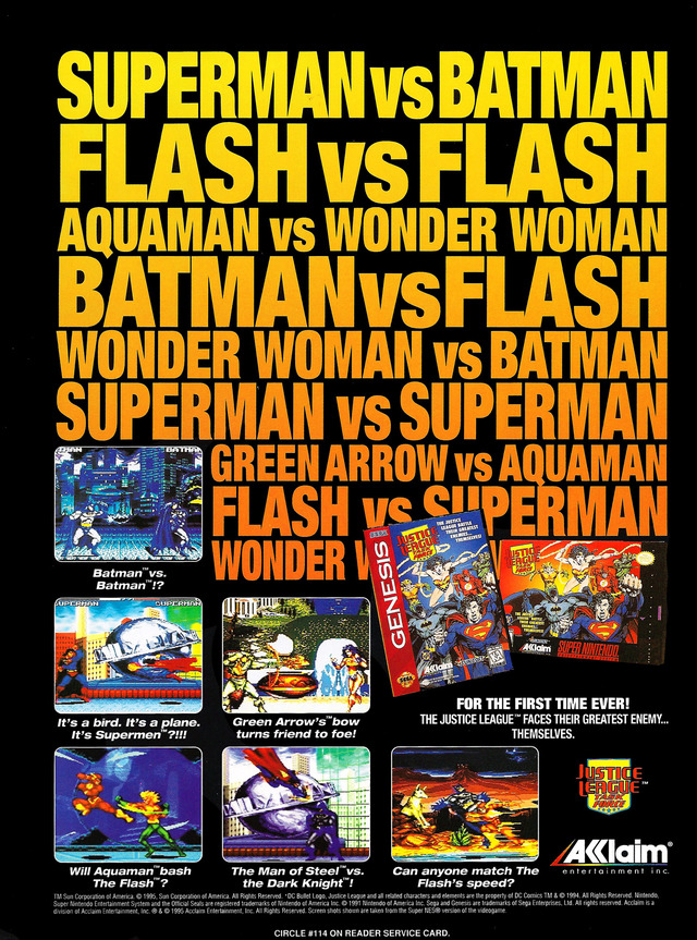 So many choices! Nice to see Flash get near top billing
