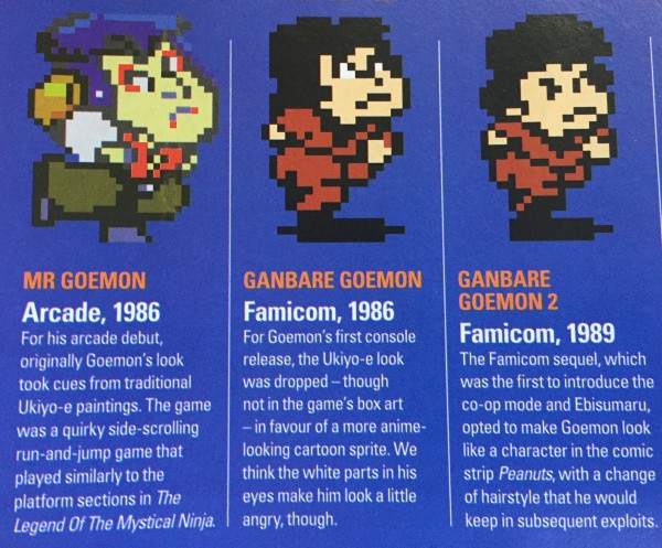 Goemon started out as an arcade game in 1986