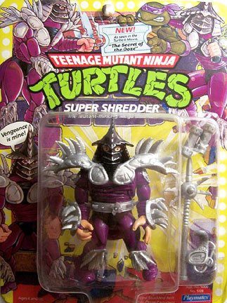 Super Shredder was such a badass