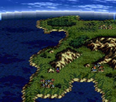 SNES flexes its graphical muscles here
