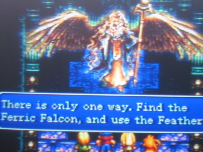 Pops wasn't lying after all. The Ferric Falcon LIVES!