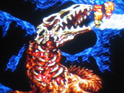 Bone Dino is perhaps the most tragic SNES boss ever