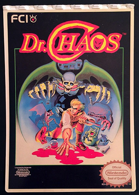 I remember seeing NES games like Dr. Chaos