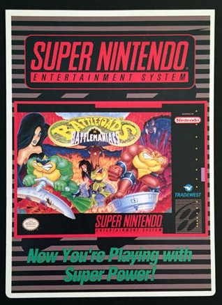 And Battletoads in Battlemaniacs