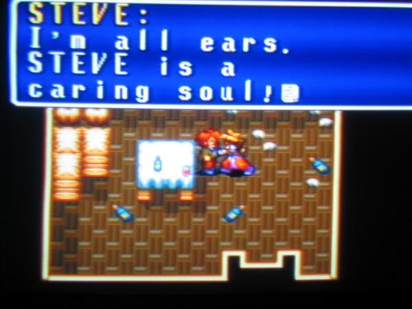 Steve, such an upstanding handsome hero [Riiight -Ed.]