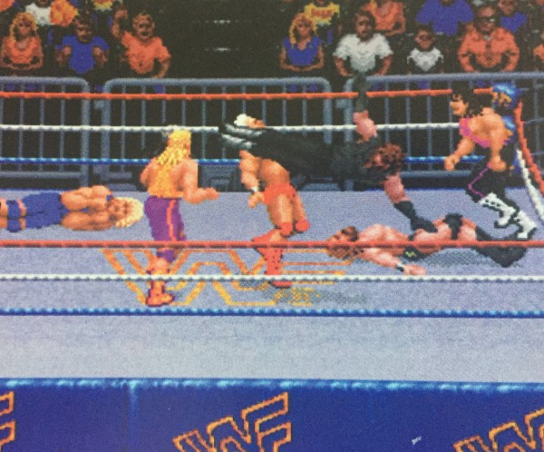 Now this is more like it. Not Wrestlefest, but hey